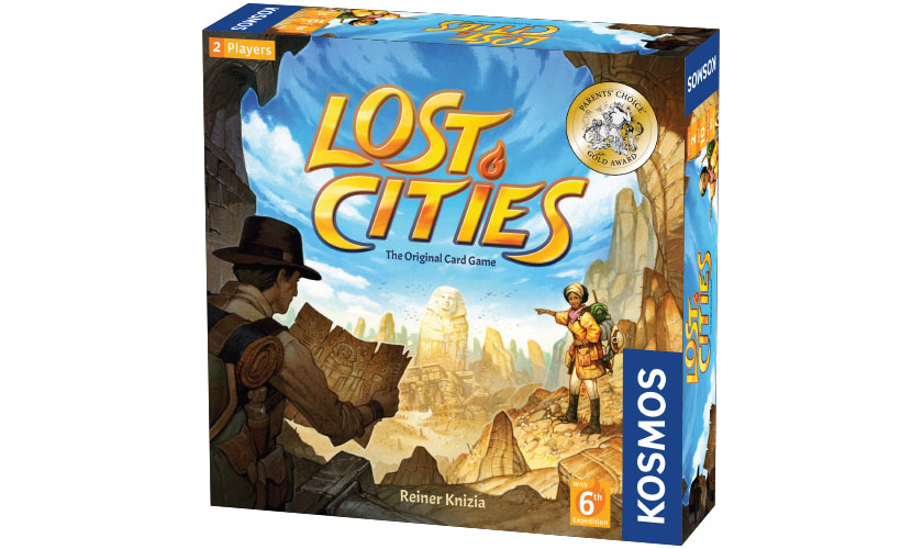 GATO Lost Cities: The Original Card Game