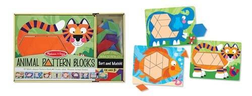 GATO Animal Pattern Blocks