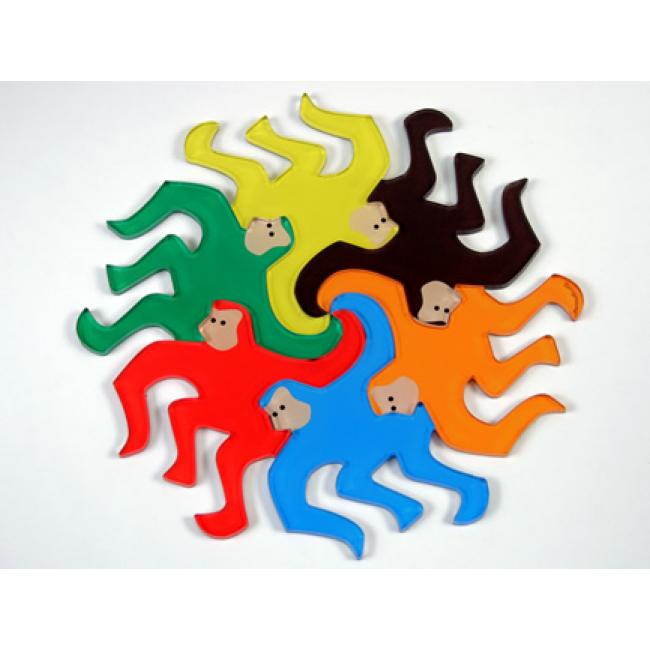 HOME Monkey Magnets (Set of 6)