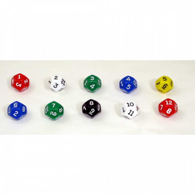 GATO 12-Sided Polyhedral Dice