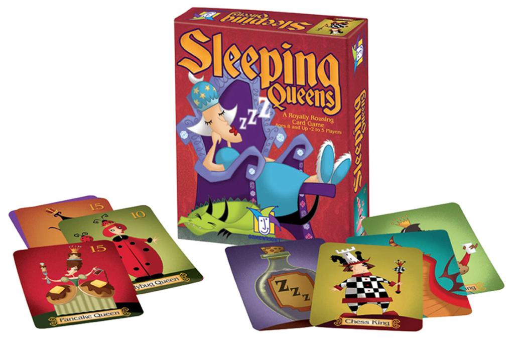 GATO Sleeping Queens Card Game