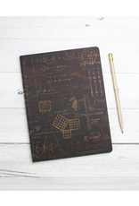 BODV Math Equations Softcover Notebook - Dot Grid Paper