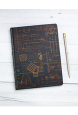 BODV Math Equations Hardcover Notebook - Dot Grid Paper