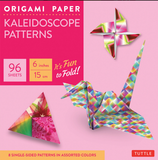 BODV Origami Paper: Kaleidoscope Patterns