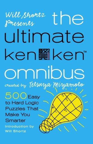 BODV Will Shortz Presents The Ultimate KenKen Omnibus