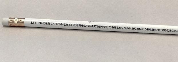 TRIN MoMath Pi Pencil