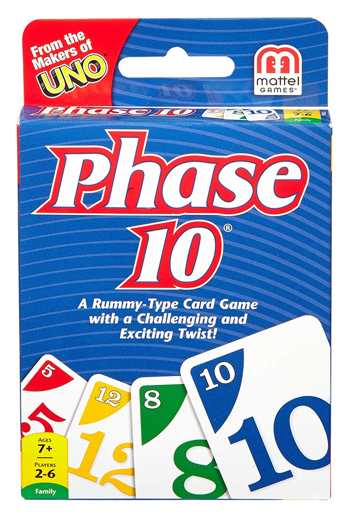 GATO Phase 10 Card Game