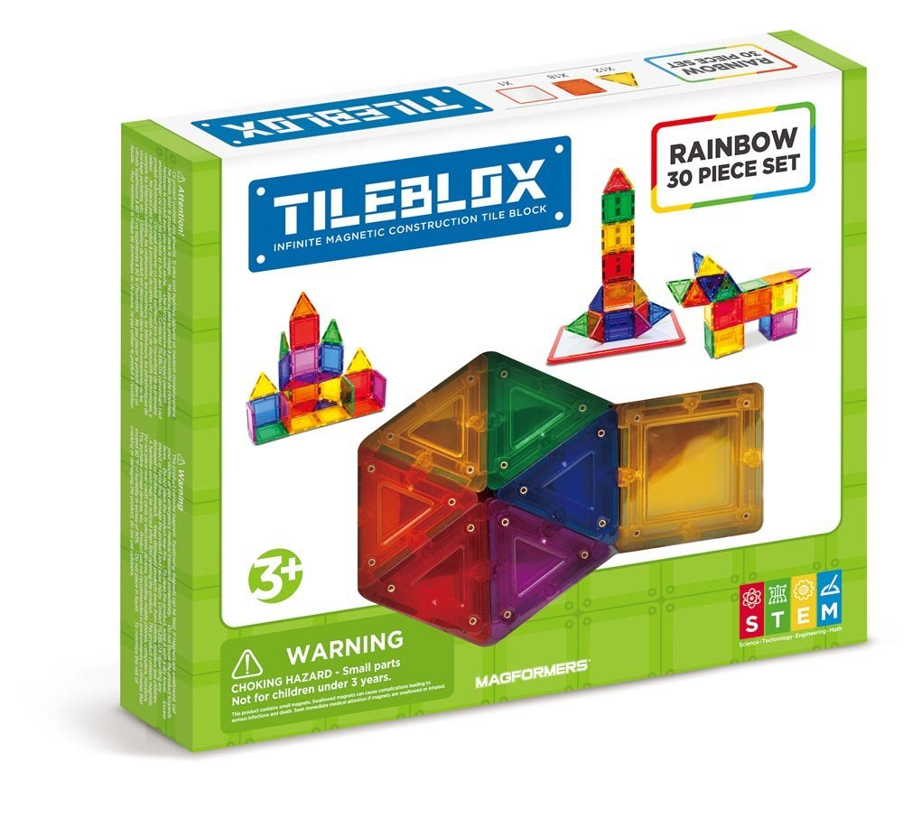 GATO Tileblox 30Pc set - Rainbow