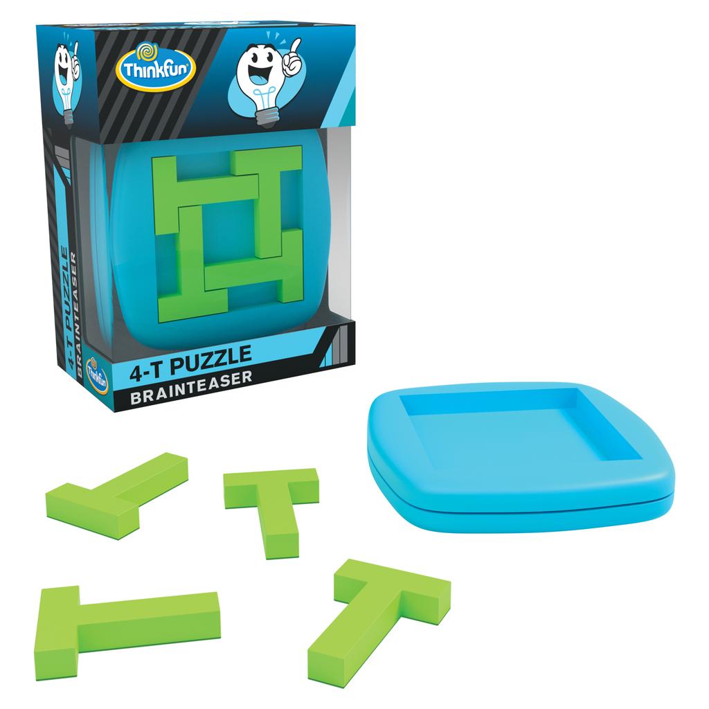 GATO Pocket Brainteaser: 4-T Puzzle
