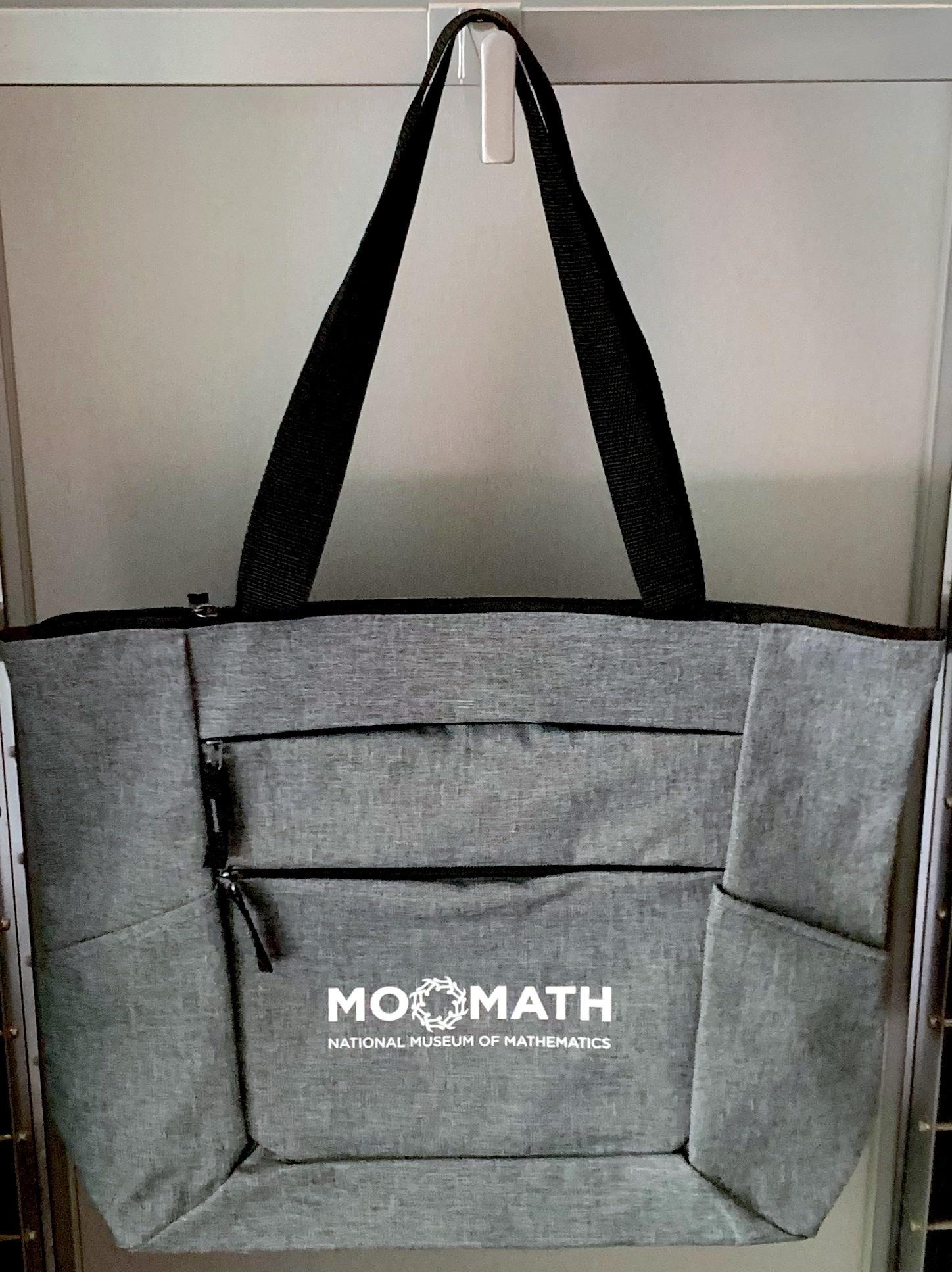 GATO MoMath Water Resistant Tote Bag
