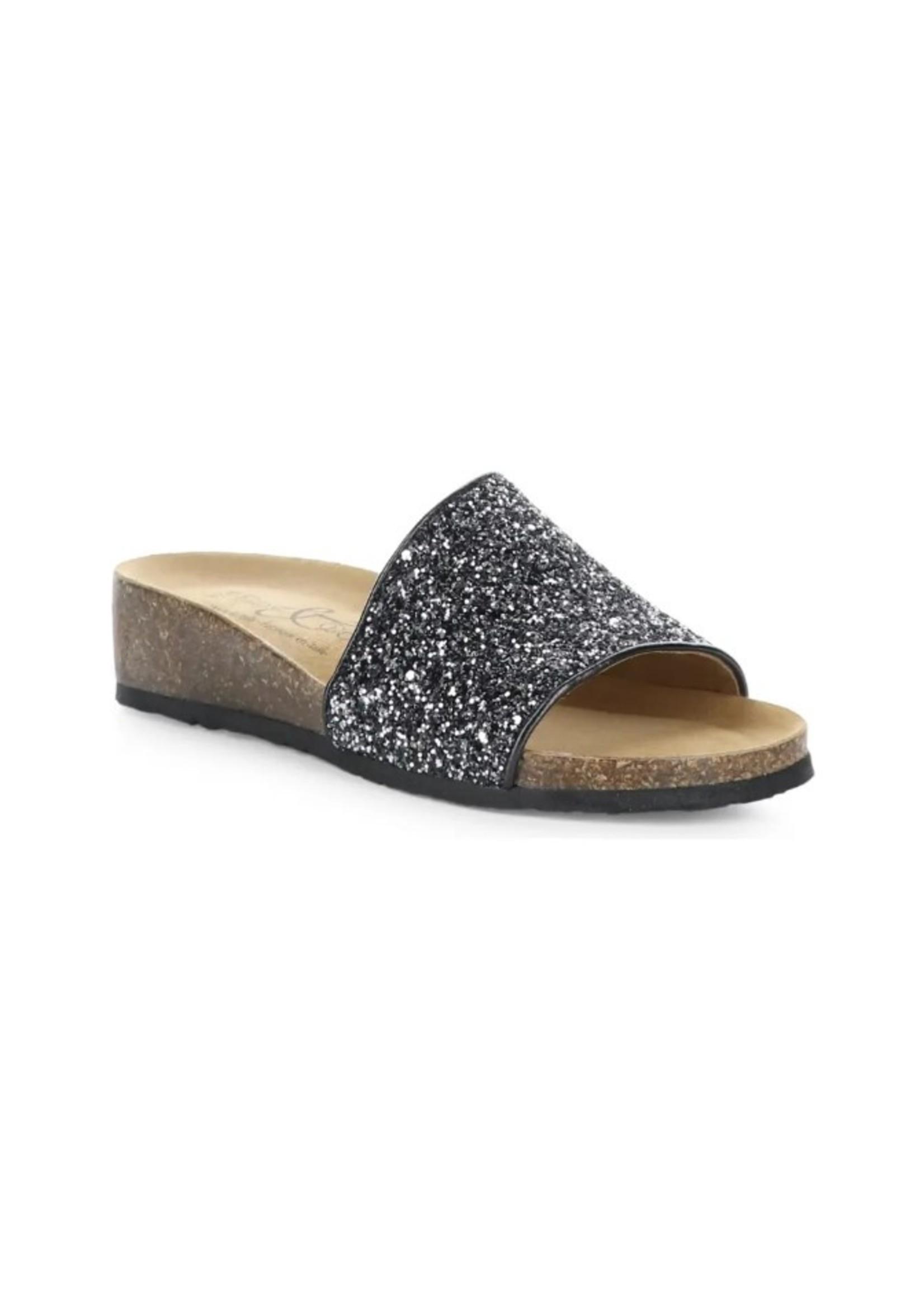 Glux Bling Slide Sandals