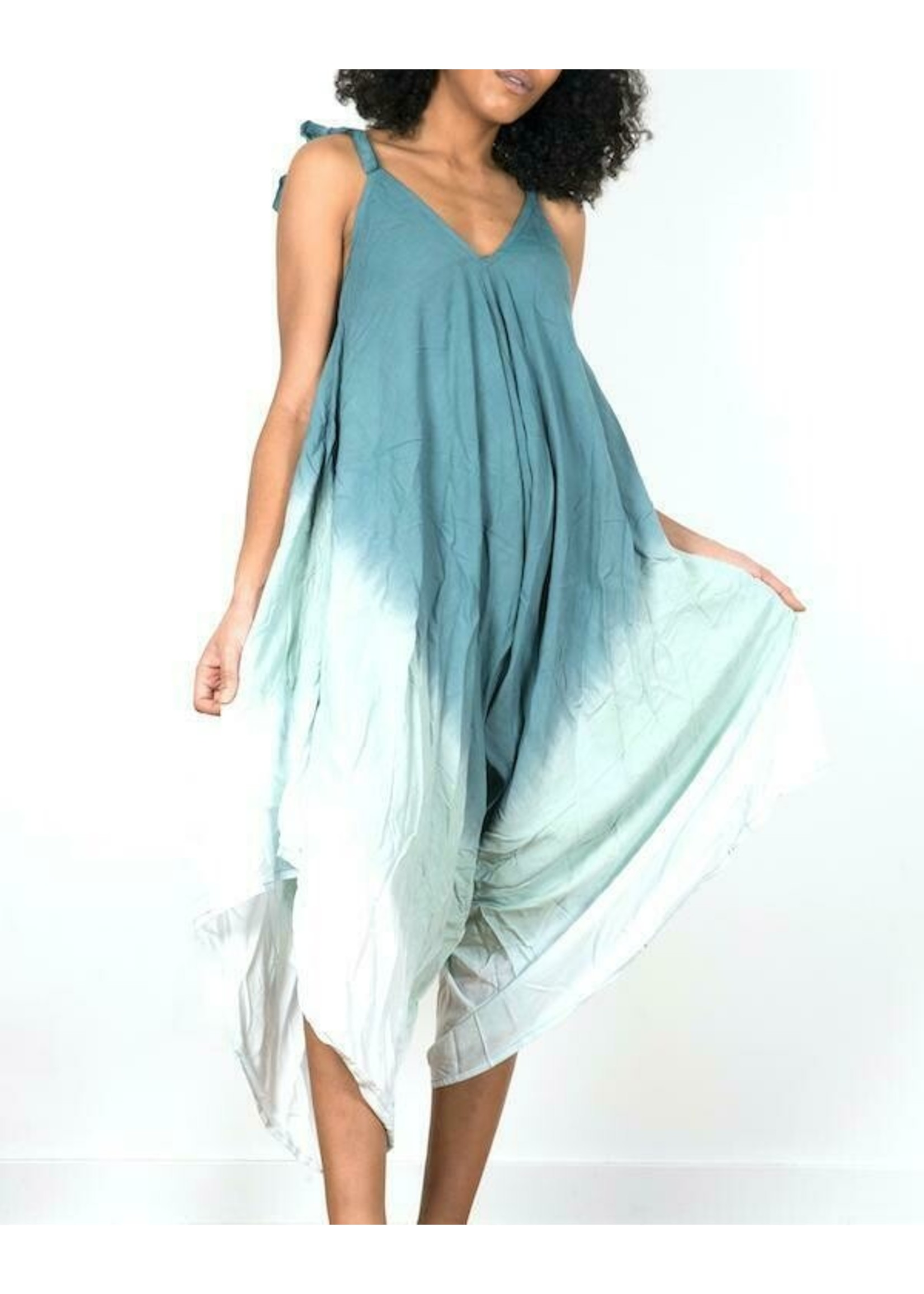 Suzie Blue Mint Bali Romper