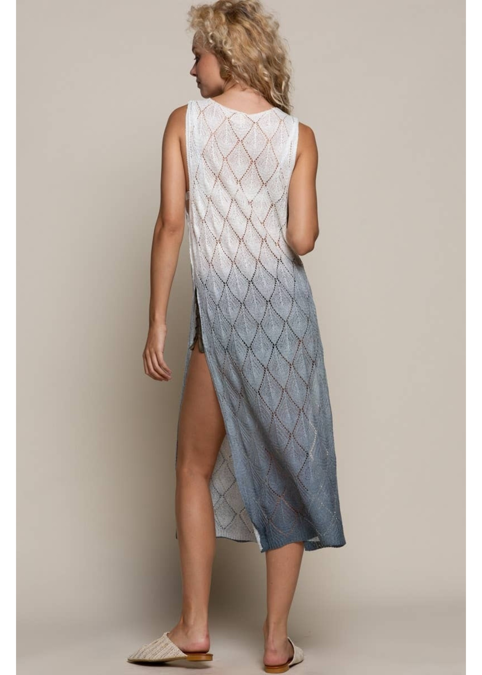 POL Lace Beach Cover Up