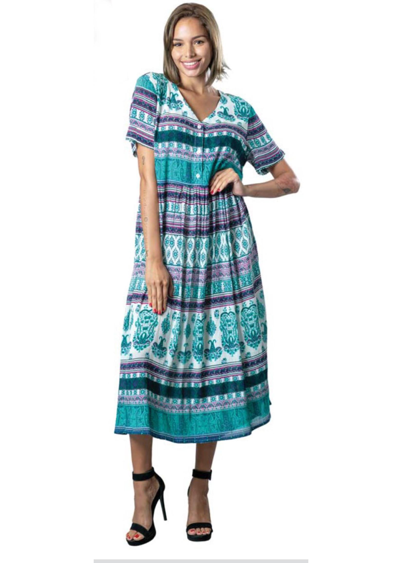 Papa Vancouver Bohemian Maxi Dress