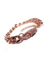 Jacqueline Kent Cuban Link Bracelet   JK