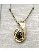 Vintage Jewellery Vintage 14k Drop Pendant   21mmx12mm