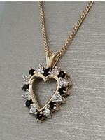 Vintage Jewellery Vintage 10k Heart Pendant   22mmx16mm