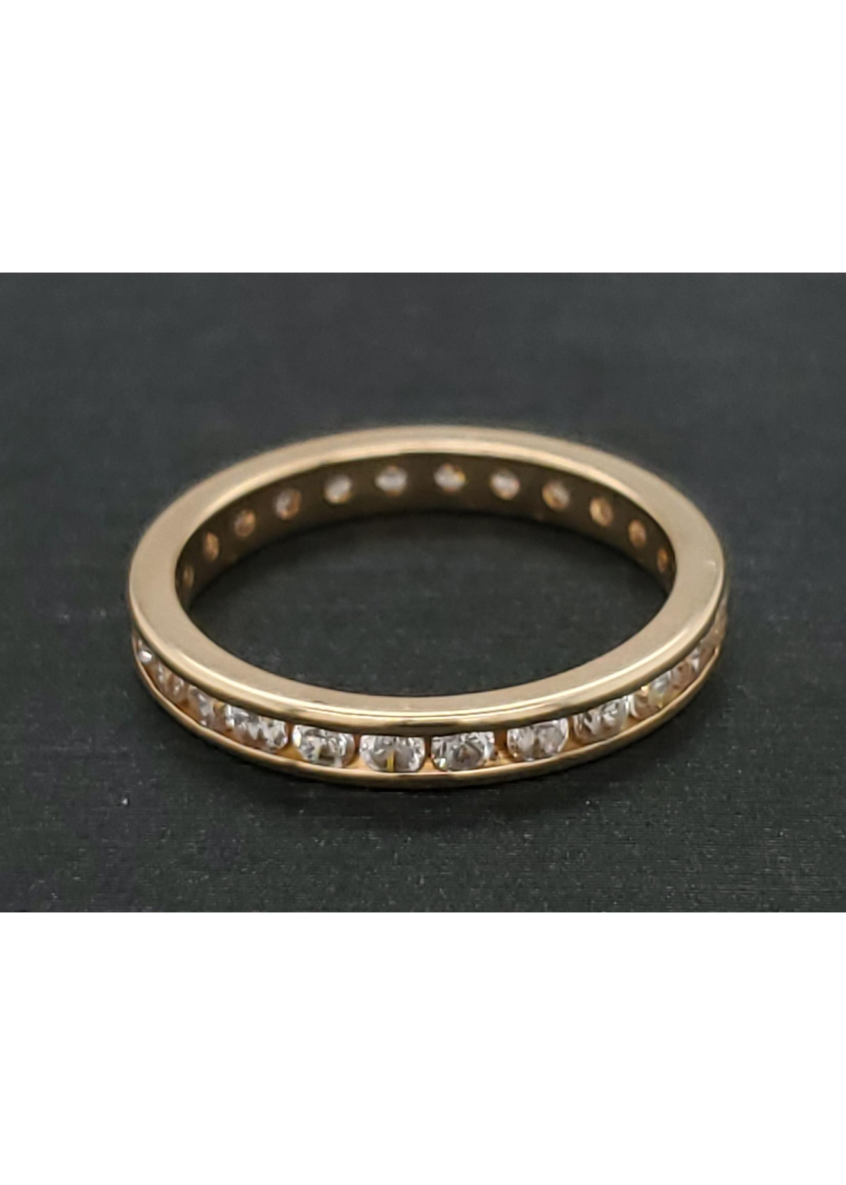 Vintage Jewellery Vintage CZ Band | Sz 5.5 4.8mm band
