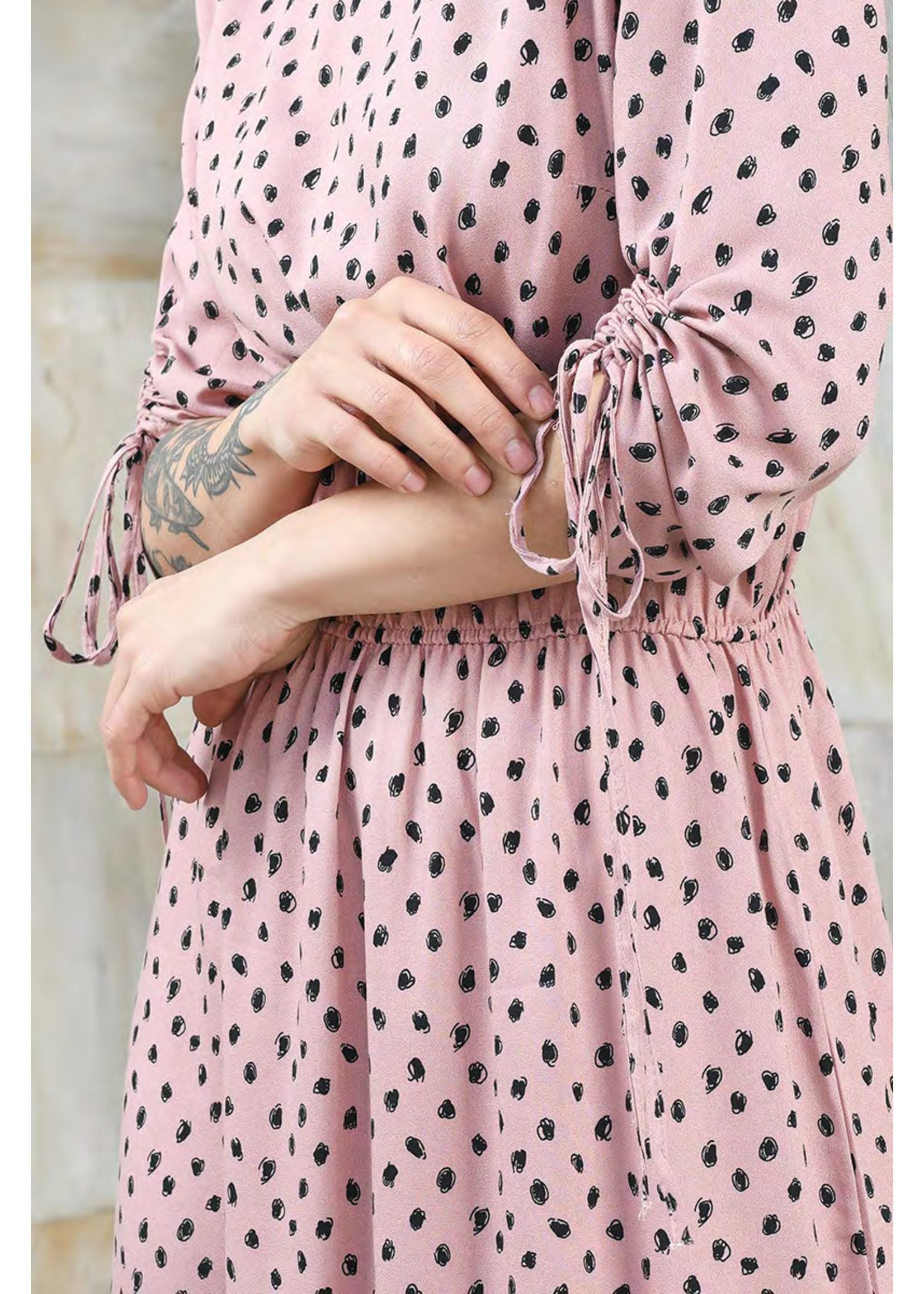Vitesi Polka Dot Dress