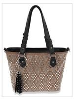 Sparkling Rhinestone Shopper Handbag