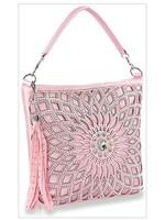 KDX Rhinestone Embellished Design Handbag