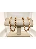 "Vintage Jewellery Vintage Rope Chain 20"""