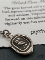 """Pyrrha Watch Over Me, Sterling 22"""" Fine Curb Chain"""