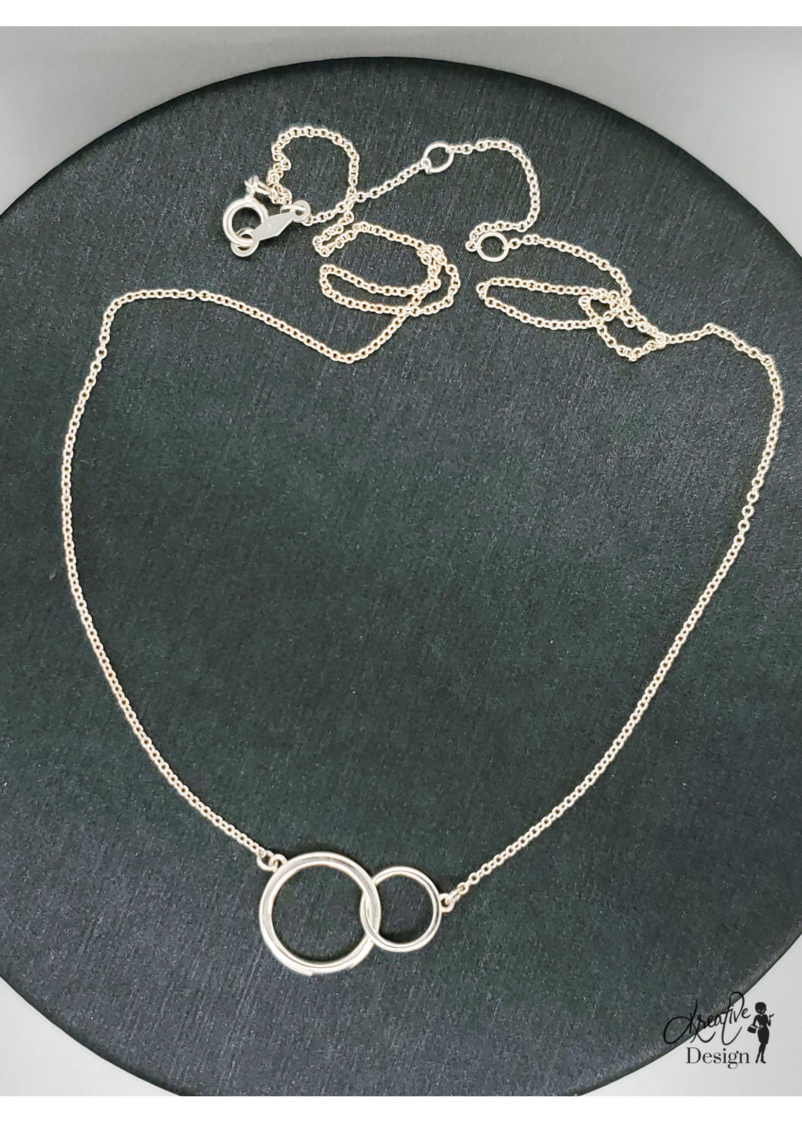 KDesign Regal Collection Regal Big-Little Circle Necklace