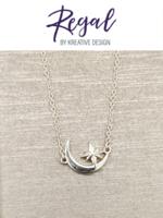 KDesign Regal Collection Regal Sun & Moon Necklace