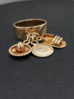 Vintage Jewellery Vintage 14k Charm Ring | Size 5 4mm band