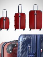 "Tommy Hilfiger 3PC Luggage Set 21"", 25"", 28"" Regular Price $805"