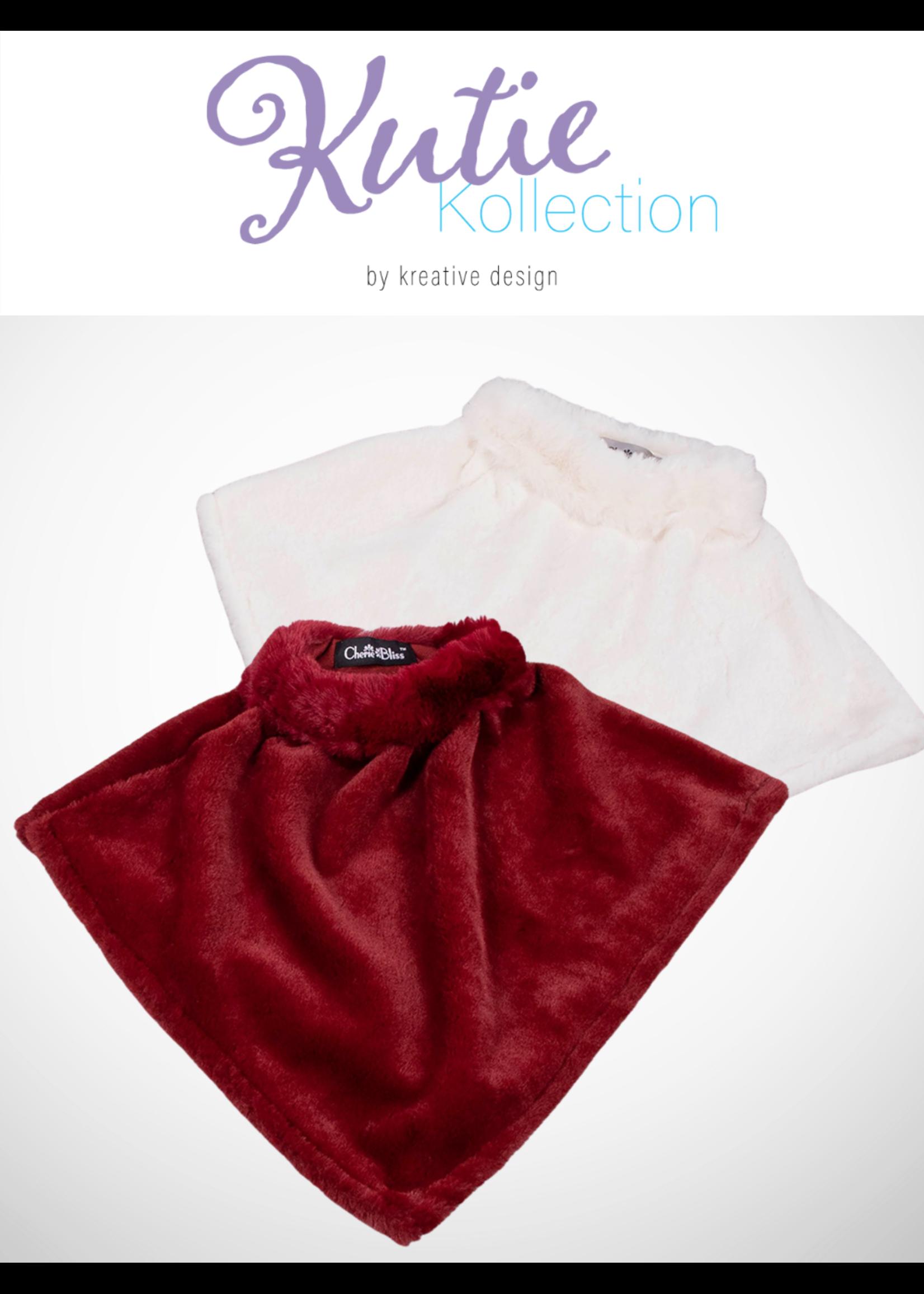 Kutie Collection   Kids Faux Fur Cape 3 - 8yrs