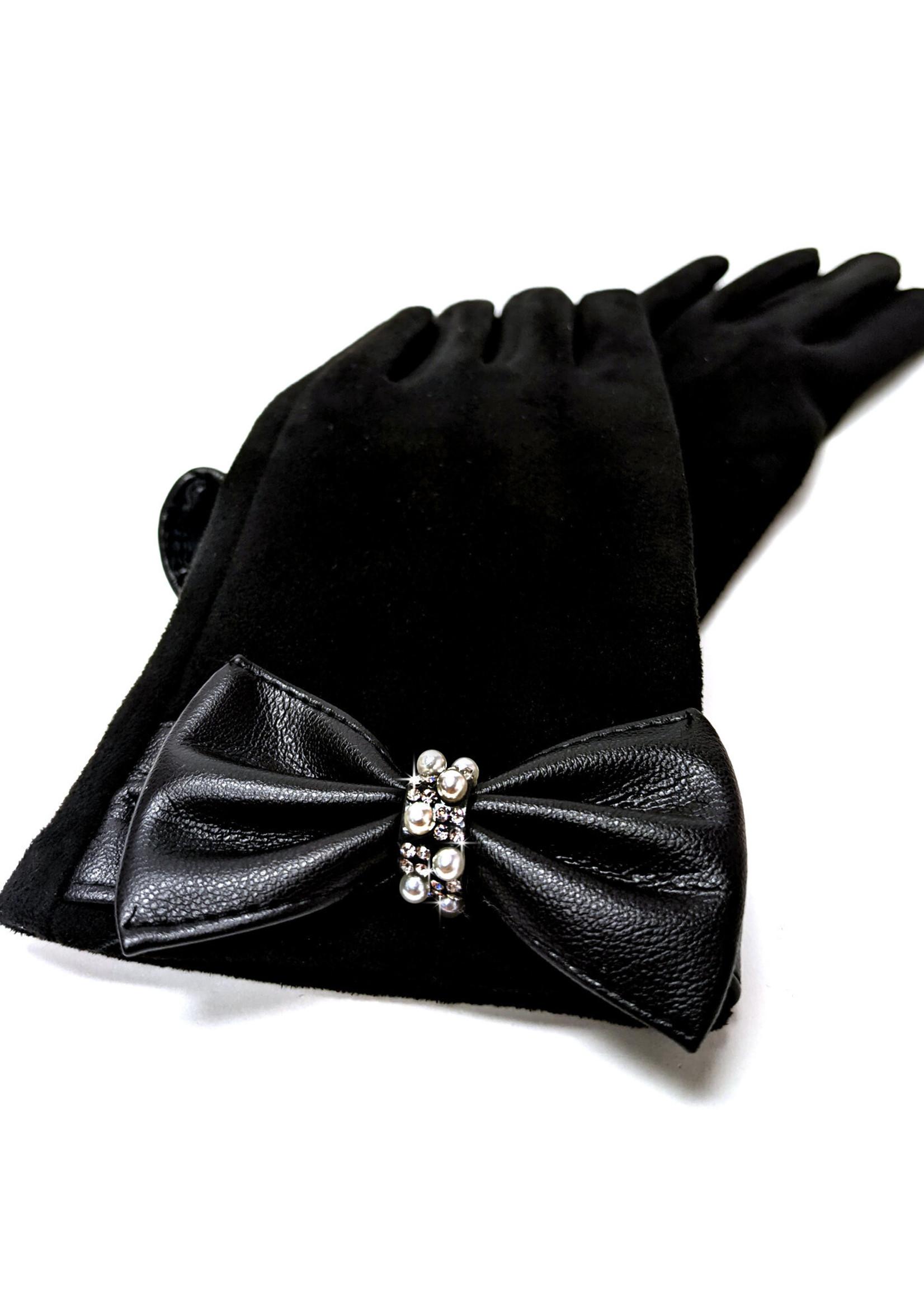 Jacqueline Kent Bubbles & Bling Classic Bow Gloves