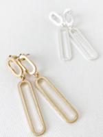 Metallic Finish Earrings