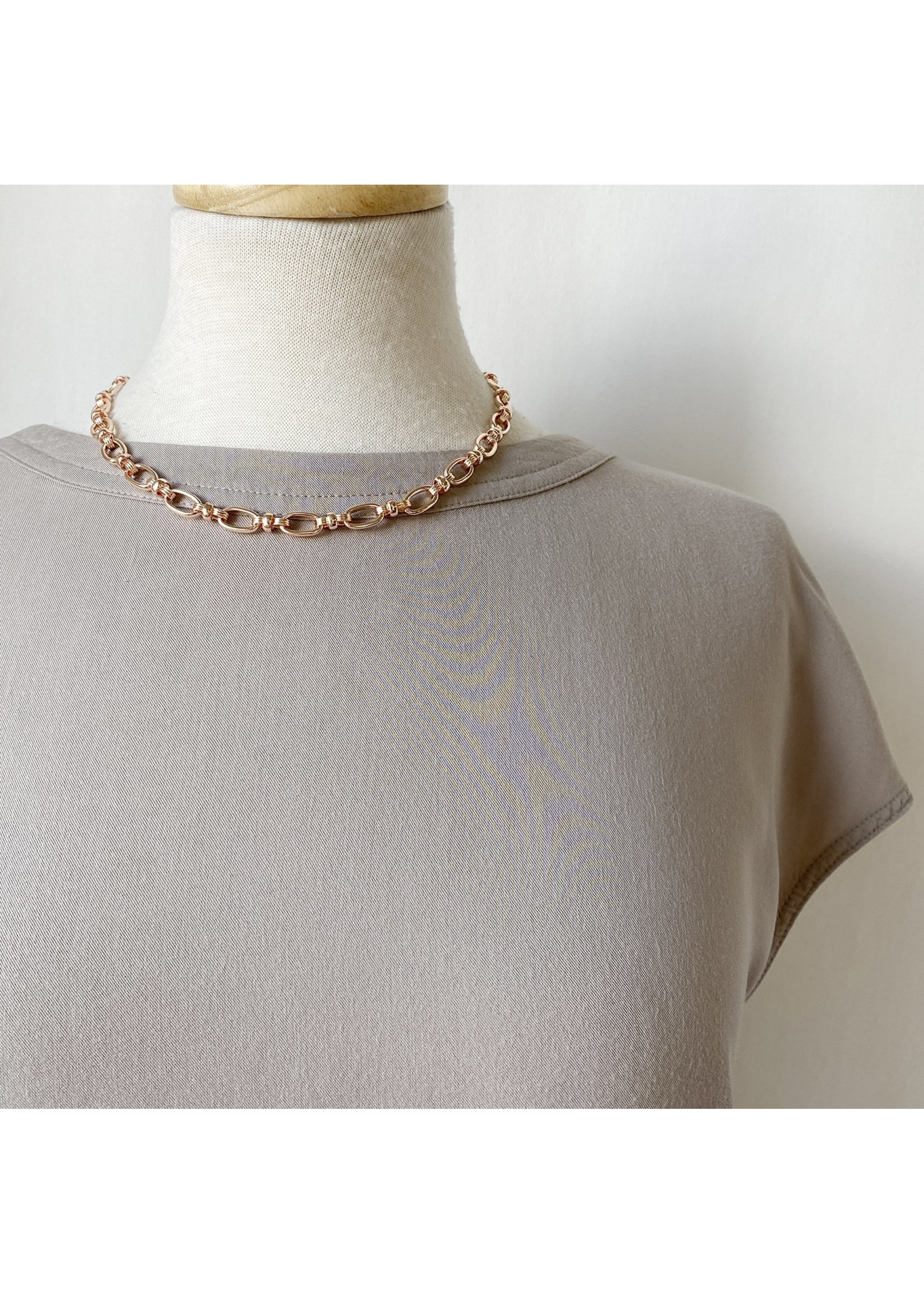 Single Link Short Necklace