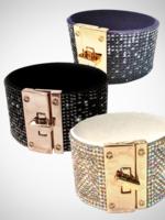 Jacqueline Kent Swarovski Crystal Cuff Bracelet | JK