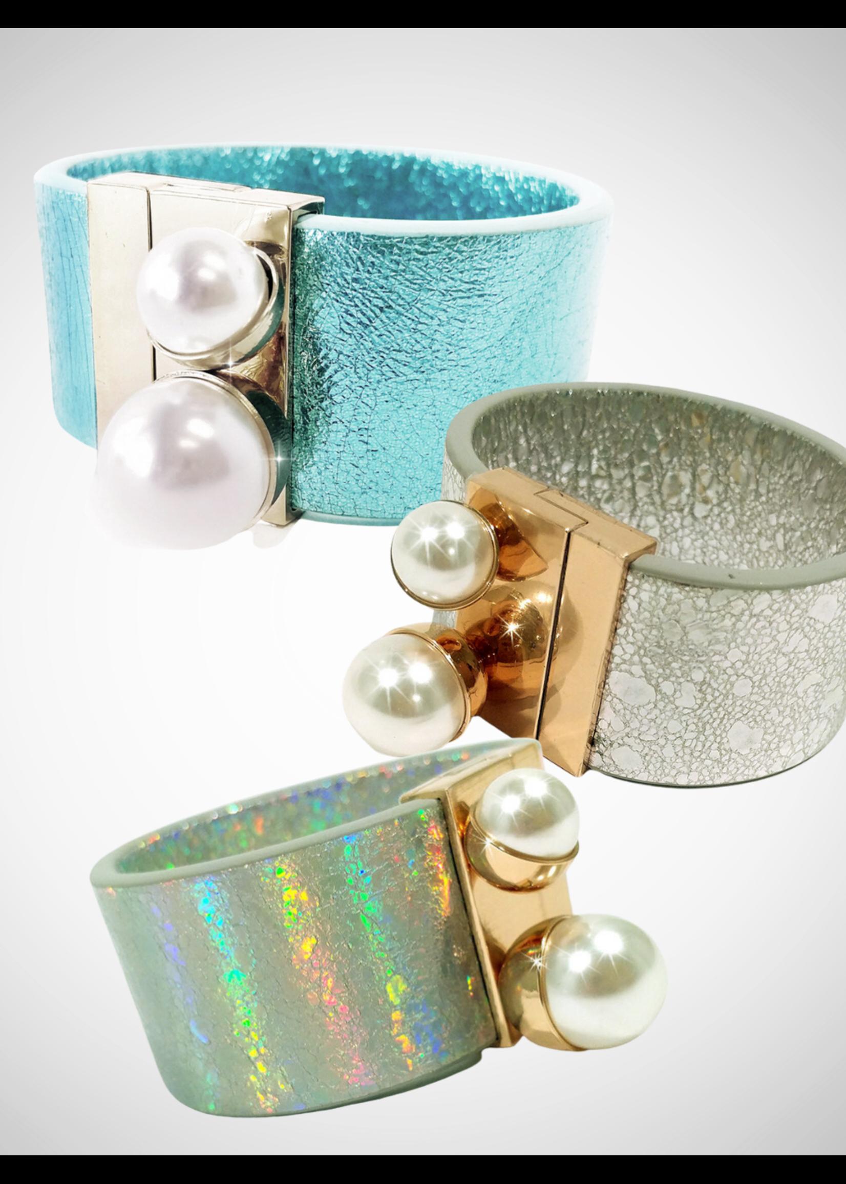 Jacqueline Kent Bracelet - Double Pearl | JK