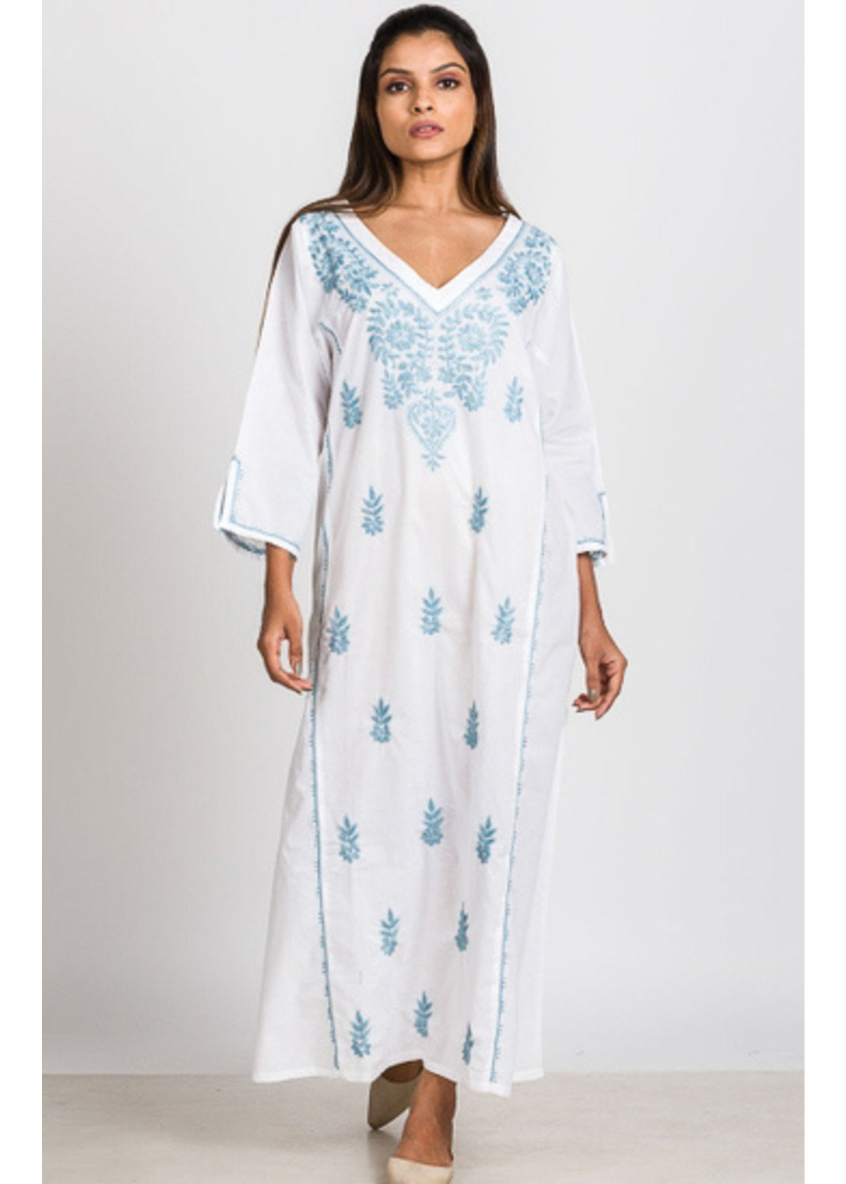 Parama Embroidered Caftans