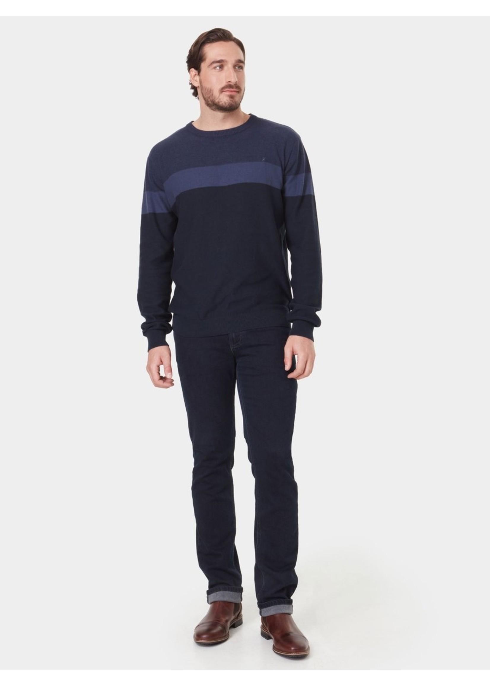 Mitch Men's Crew Neck Colour Block Sweater