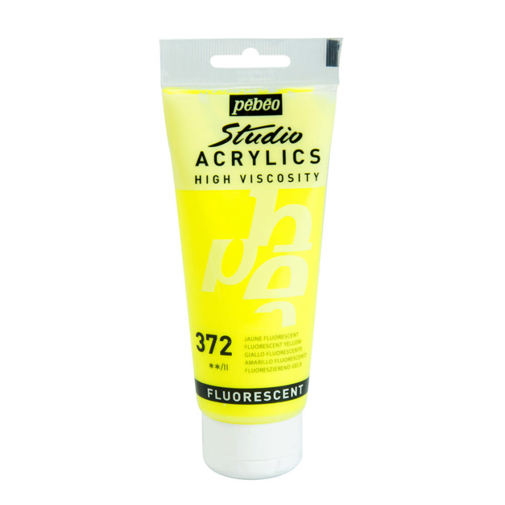 Pebeo Pebeo Acrylic Fluorescent Yellow