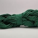 4mm Macrame Cord/3 Ply - 50m = 164ft - Emerald