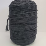 4mm Macrame Cord/3 Ply - 1kg (approx 500ft) - Black