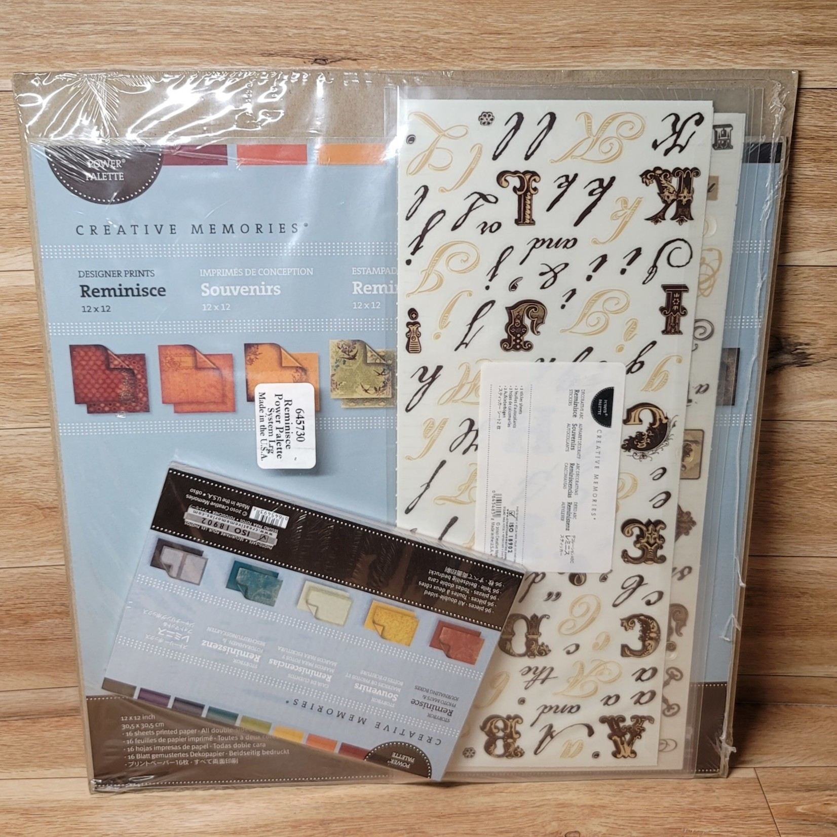 Creative Memories - Designer Prints - Reminisce Full Kit