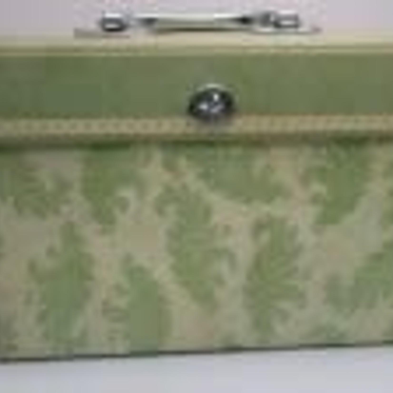 Small Accordion Folder - Green