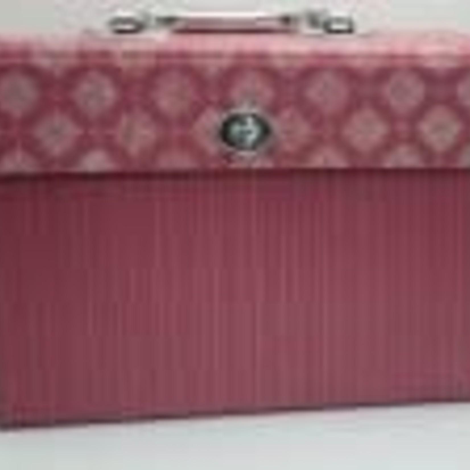 Small Accordion Folder - Pink