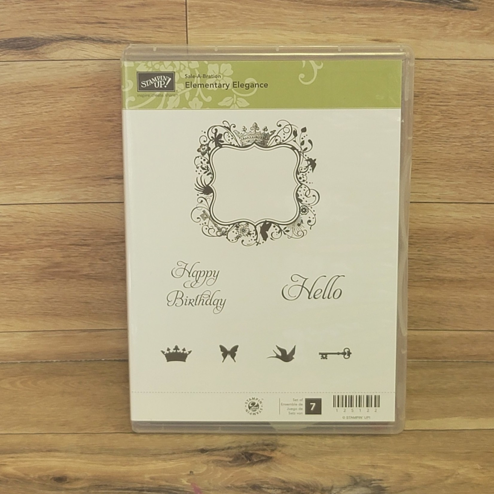 Stampin' Up Stampin Up - Rubber cling stamps - Elementary Elegance