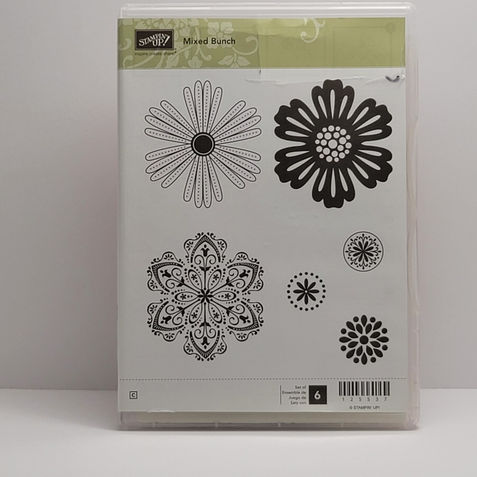 Stampin' Up Stampin' Up - Cling Stamps - Mixed Bunch