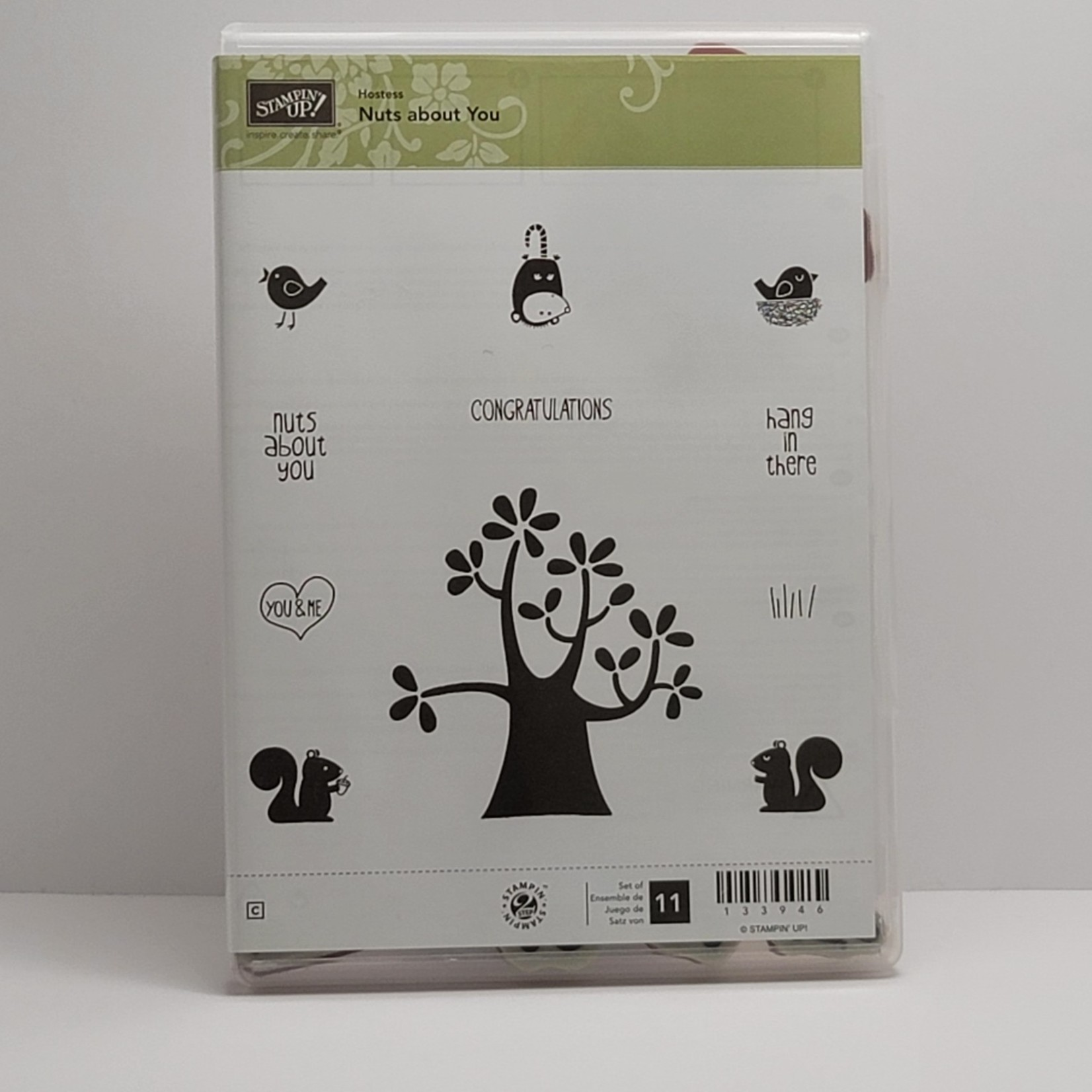 Stampin' Up Stampin' Up - Cling Stamps - Nuts about you