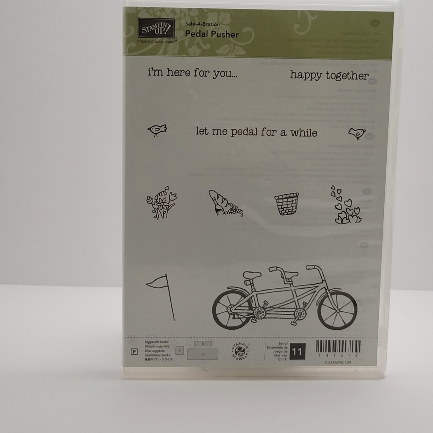 Stampin' Up Stampin Up - Clear Stamps - Pedal Pusher