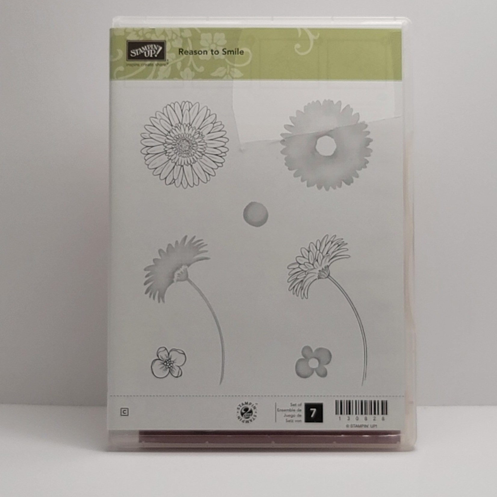Stampin' Up Stampin' Up - Cling Stamps - Reason to Smile
